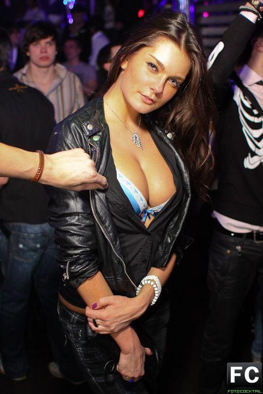 Russia Girls In Night Yekaterinburg In Club