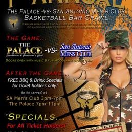 Pudding Mens Strip San Palace Club Antonio