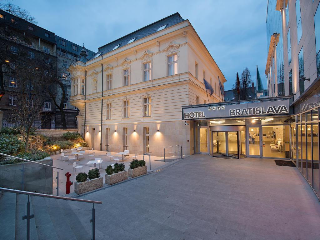 In Slovakia Hotels Love Bratislava