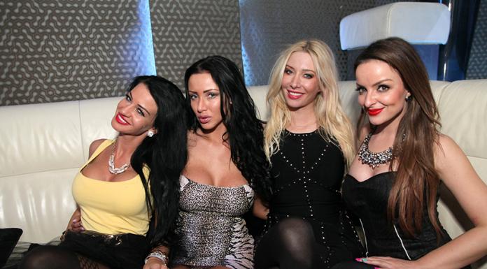 Girls In Night Club In Bratislava Slovakia