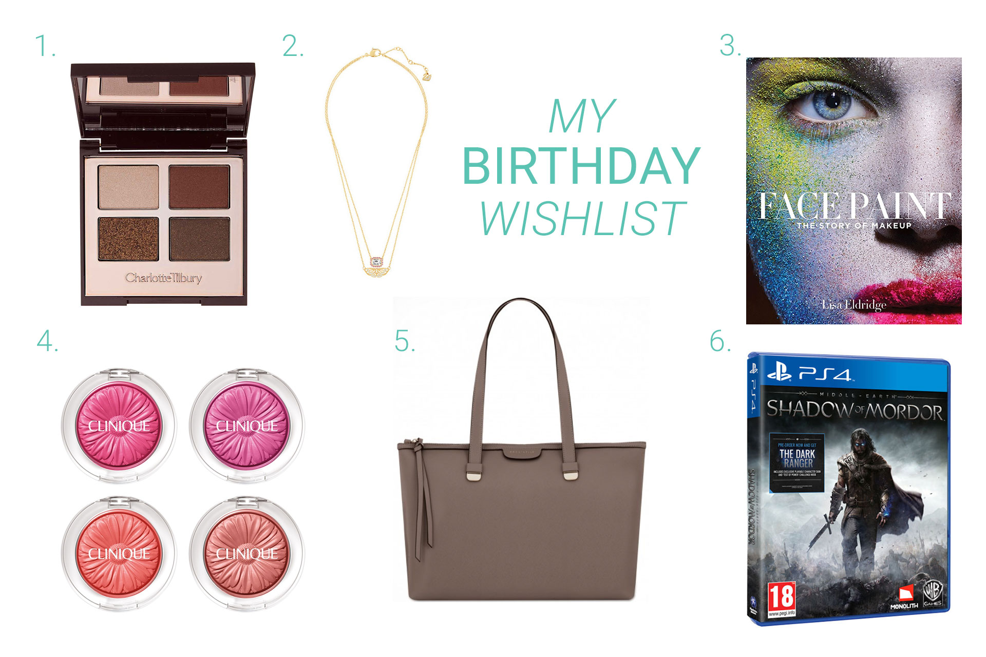 I Have Finally Put My Amazon Wish List Together
