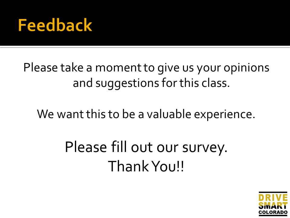 Our Survey Finds Out