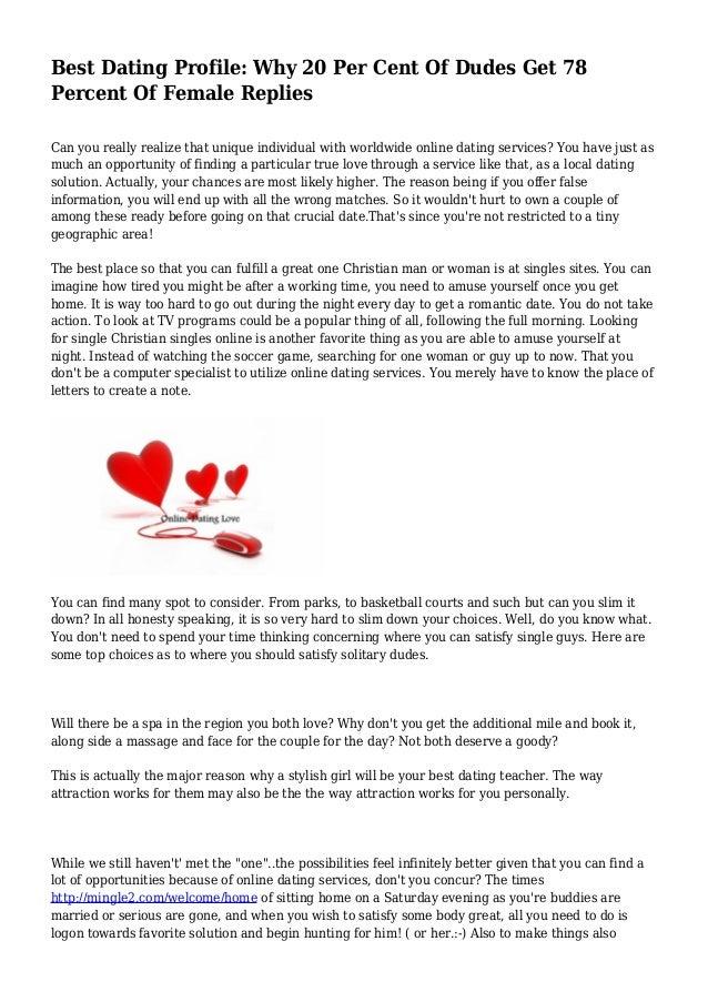 Cienfuegos Pua Dating Profile Examples