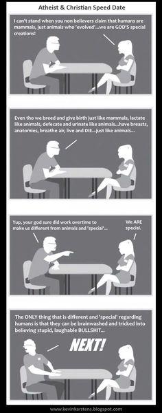 Agnostic Speed Dating