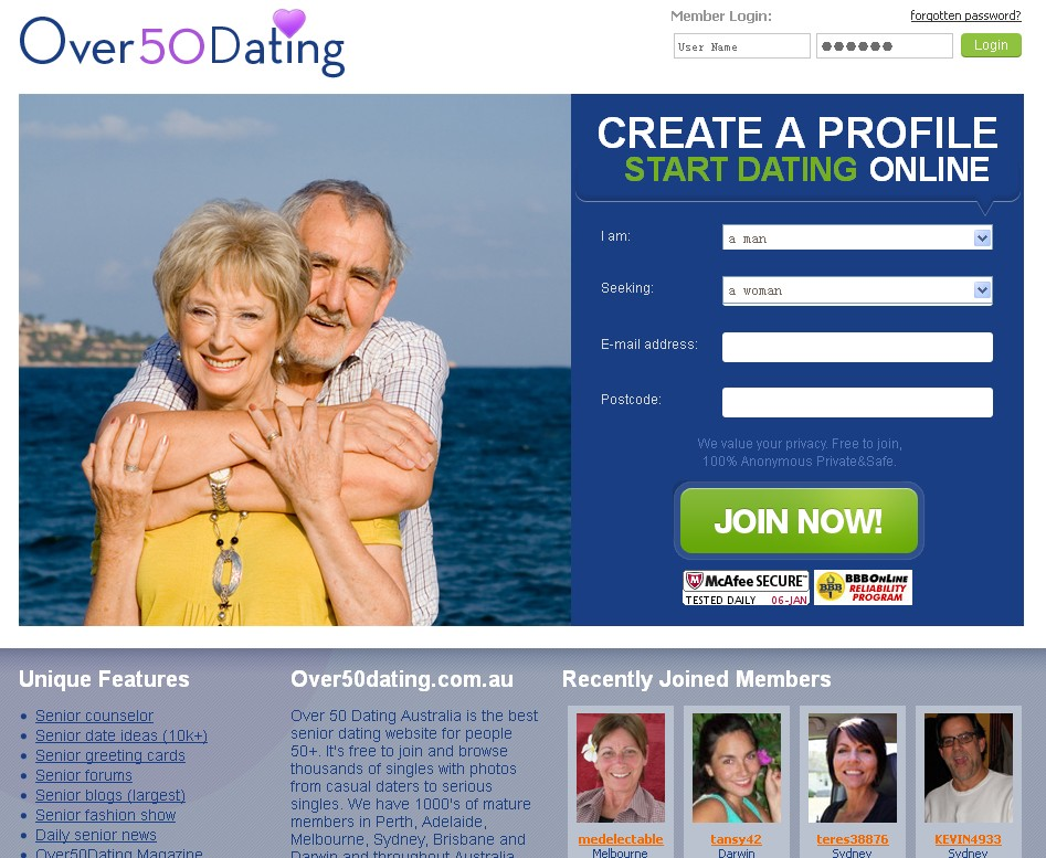 Australian Geek Dating Site