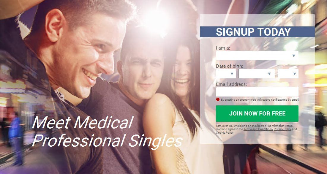 District Professionals Dating Site Healthcare