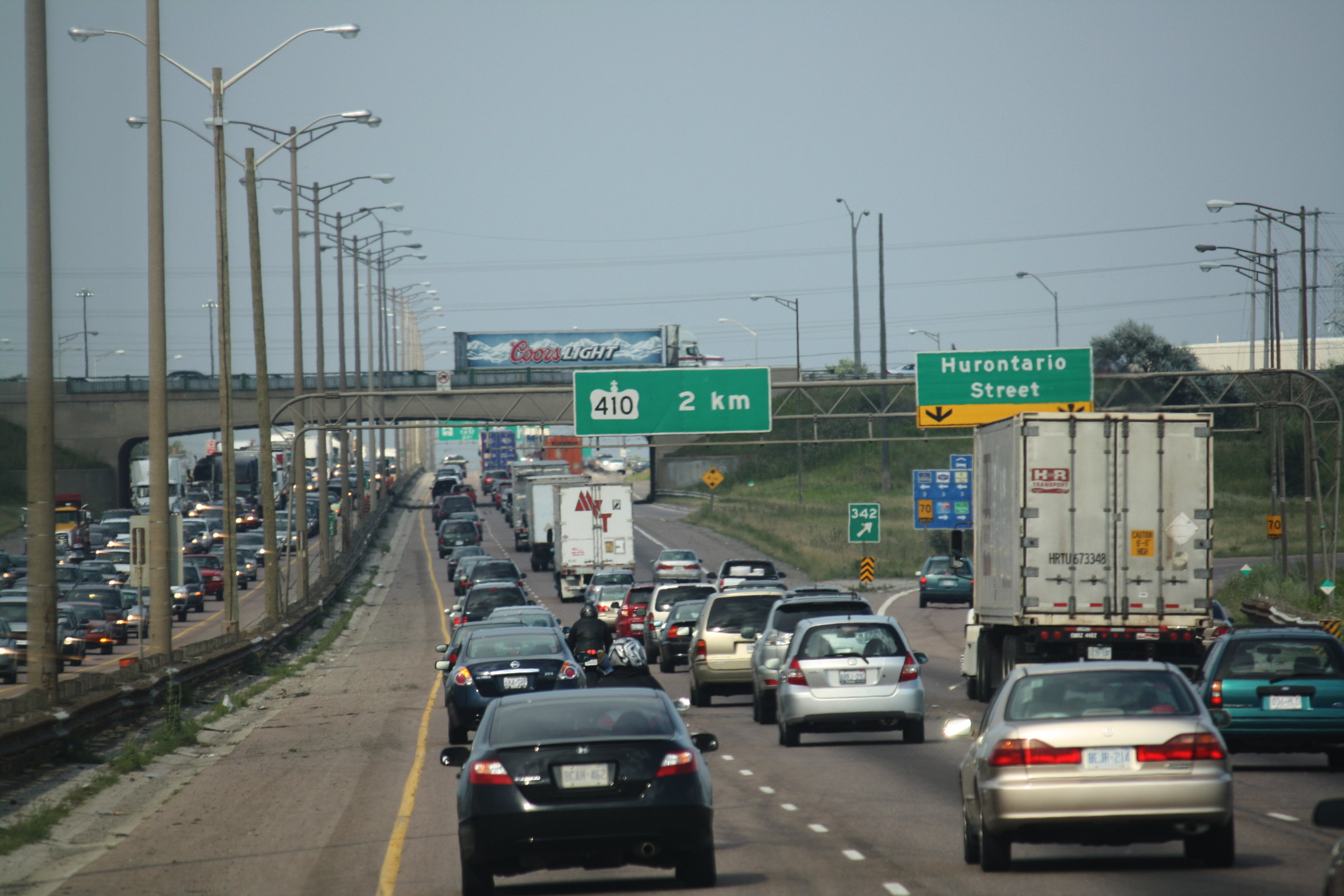 Avaiable Hurontario 401 Hwy Escort Mississauga Car St In
