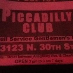 Club Philadelphia Strip Piccadilly