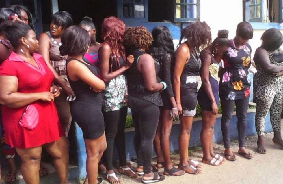Lagos Nigeria In Brothels