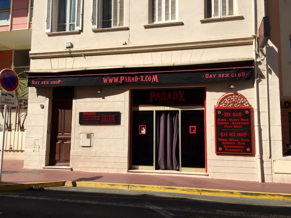 Paradx Cannes Sex Shops