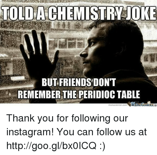 Follow Hun For The Chemistry Thank You