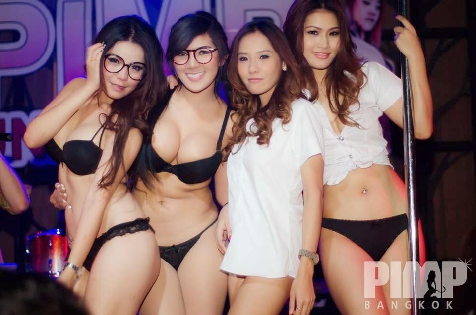 Night Thailand Club In Girls In Bangkok