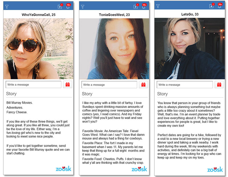 Online Examples Profile Great Dating