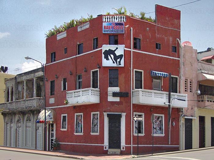 In Dominican Club Strip Santo Republic Domingo