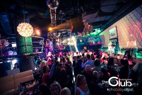 Club In Slovakia Night Bratislava Girls In