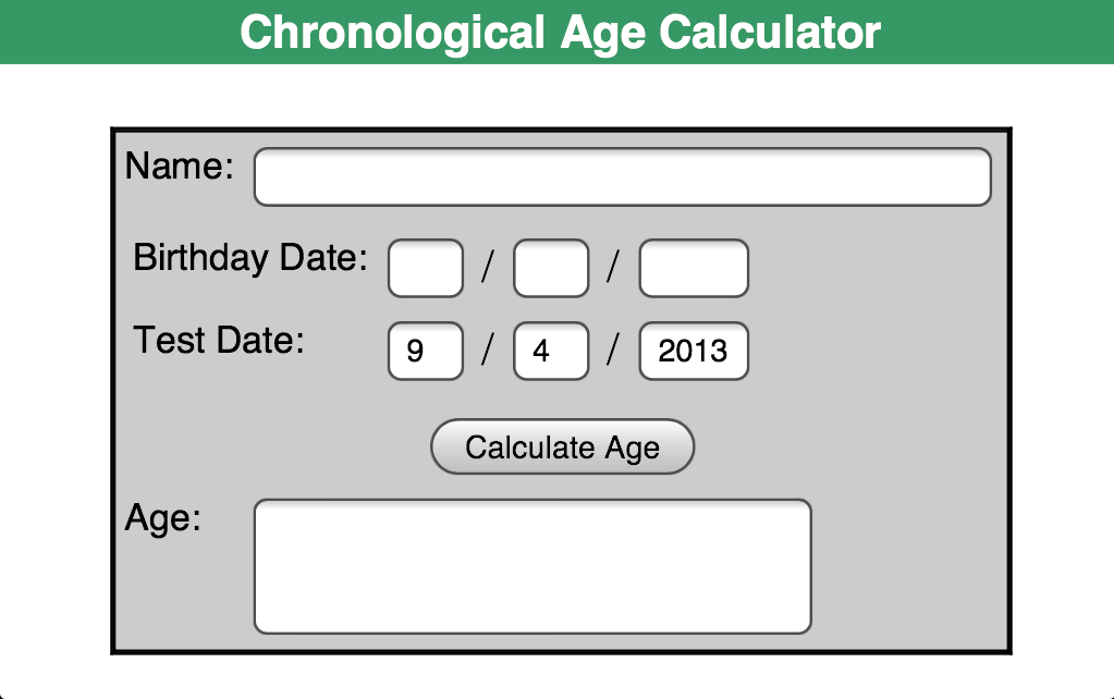 Dating Calculator Age