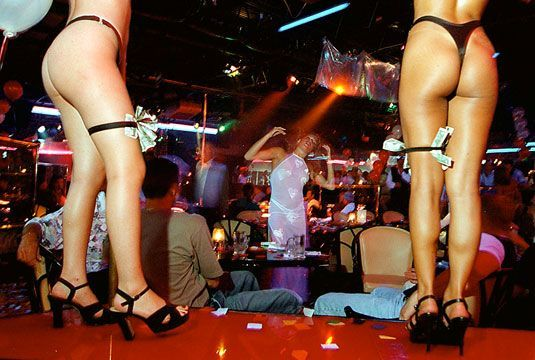 Horndog Lion Kiev Strip Club Red