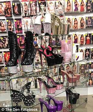Coast Shop Shops Sex Gold