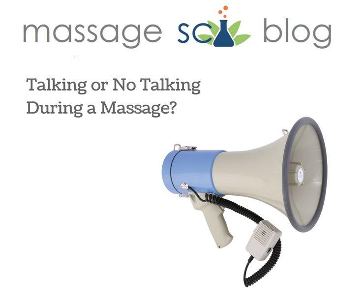 Talking Massage Halfway About Through