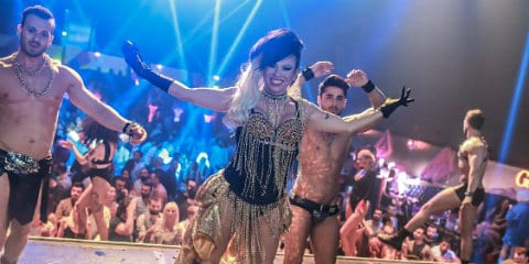 Club Istanbul Women Gay Catwalk