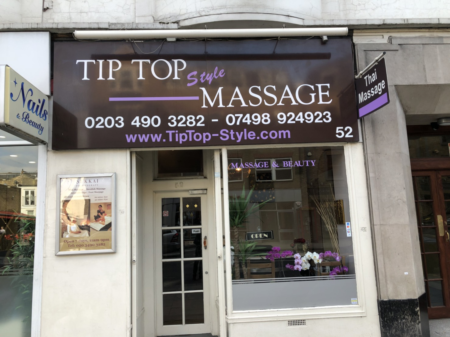 Crystals Massage Fulham Sw6 London Parlors