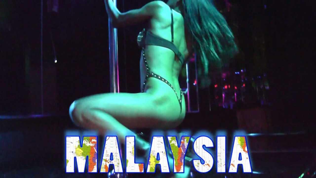 Kuala Malaysia Lumpur In Club Strip