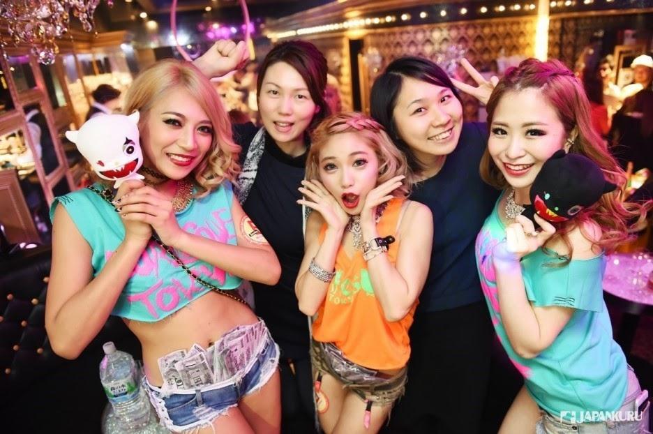 Japan In Club Girls Okayama Night In