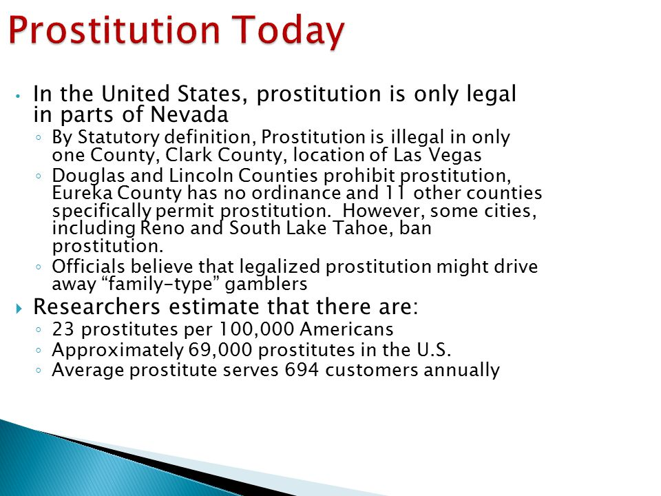Interlude States The United Prostitution In