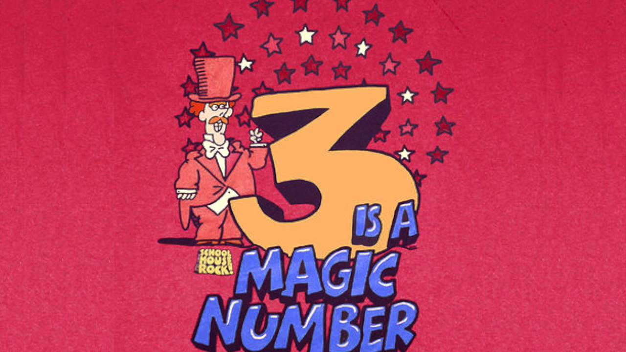 Three Is The Magic Number Reno